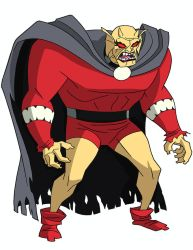 Justice League DCAU Roll Call - Etrigan the Demon by TimLevins