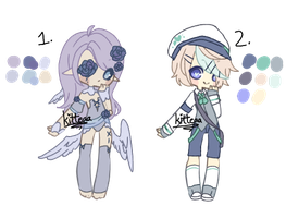closed auction : smol adopts by kitteaa