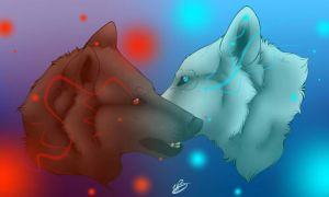 Varren and Kida by Buddy1438