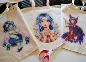 Custom Kawaii Bags by Lighane