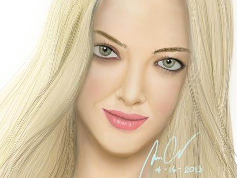 Amanda Seyfried by mazziiCHUA