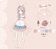 Custom outfit adopt for cottoneeh by Sternenmelodie