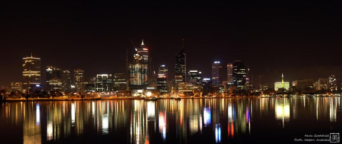 Perth Skyline 2 by Uradox