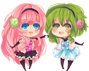 Commission: SongsofSilver Gumi + Luka by KyouKaraa