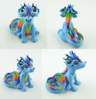 Rainbow Dragon by claymeeples