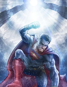 Man of Steel 2017 (re-boot) by kpetchock
