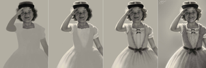 Miss Shirley Temple WIP by dwightyoakamfan
