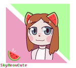 Watermelon by SkyMeowCute