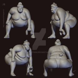 Ching  - The Sumo by SurajitSen by SurajitSen