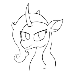 EQD ATG 2018 Day 16: Oleander Pin Sketch by Neonhuo