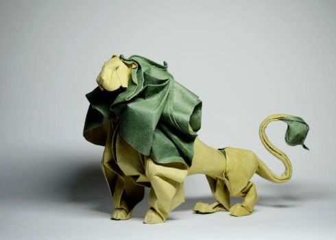 Origami Lion 2012 by HTQuyet