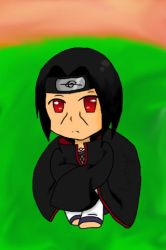 Chibi Itachi (Request) by CongotehJackal