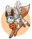 Gift - Lesa the Eevee by OmbraniWolf