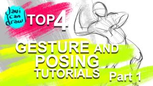 Top 4 Gesture Drawing and Posing Tutorials! by javicandraw