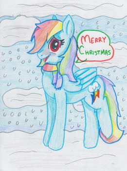 A Pony for Christmas by vialalys