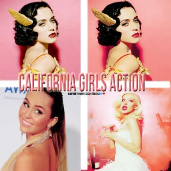 California Girls Action by MyFavoriteEditions