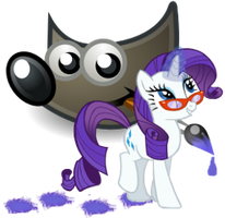 GIMP icon - rarity by spikeslashrarity