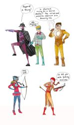 Arbitrary Characters Assemble by Kate-Kyrillion