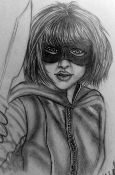 Hit-Girl by GoldieMilrose