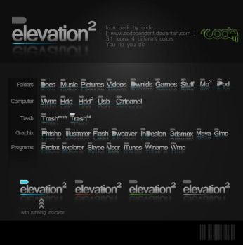 Elevation IconPack by codependent