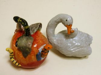 Ceramic Rattles by milbisous