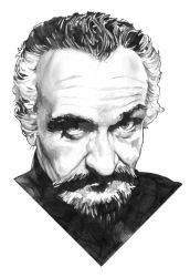 The Master pencil drawing by jlfletch