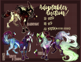Adoptables Auction - Open by OSIRISXII