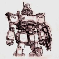 Gundam Ez8 by bluegender1