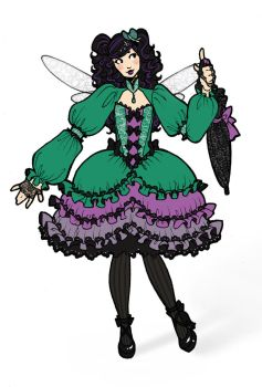 Dragonfly Lolita Redesign by Tomecko