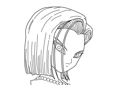 Android 18_CloseUp_WIP by carapau