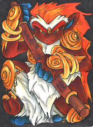 Pokemon: Monkey King by entei