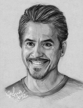 Tony Stark by DafnaWinchester