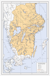 Southern Sweden in the Late Middle Ages by Milites-Atterdag