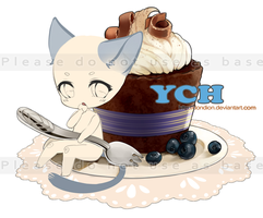 [Closed] YCH Pastry chibi #1 by Dondion
