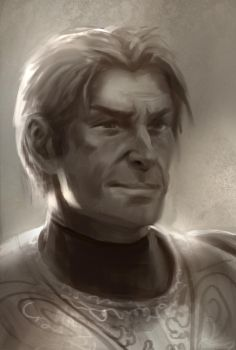 Jamie Lannister Game of Thrones sketch by JordyLakiere