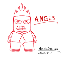 Anger Red by HuswserStar
