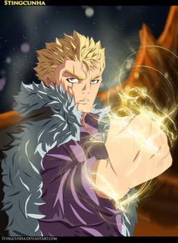 Laxus Dreyar - fairy tail 357 by StingCunha