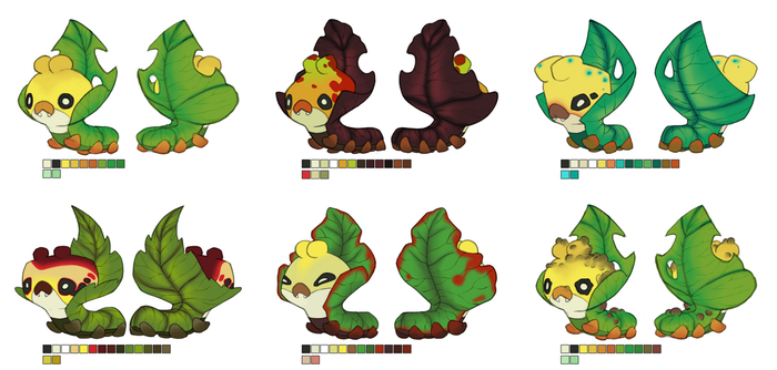 Poke-Project - Antonio's Sewaddles by manic-in-tricolour