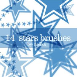 GIMP Stars Brushes by Project-GimpBC