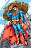 Internship Work: Superman by Punch-line-designs