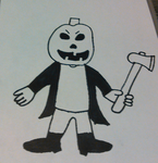 Jack O' Tim (Uncolored Version) by TwistedDarkJustin