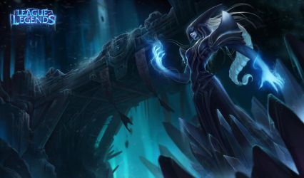 Lissandra the Ice Witch by AlexFlores