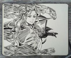 #117 Mother of Dragons by Picolo-kun