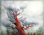 Red Pine II by Tistelmark