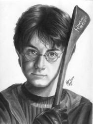 Danny and His Broom by shley77
