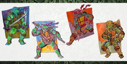 TMNT FInished by mannycartoon