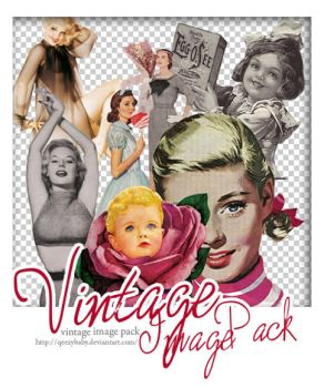 Vintage Images pack by qeezybaby