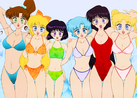 Bikini Senshi 3 by Air-Hammer