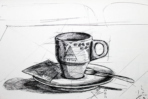 2Sketch 01 (Cup of Coffee) by docthedog