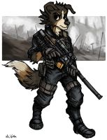 Dog Sniper 01 by TheLivingShadow